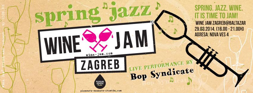 spring jazz wine jam